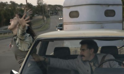 Borat's daughter actress Maria Bakalova and Sacha Baron Cohen