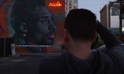 Kobe Bryant murals Sincerely Los Angeles