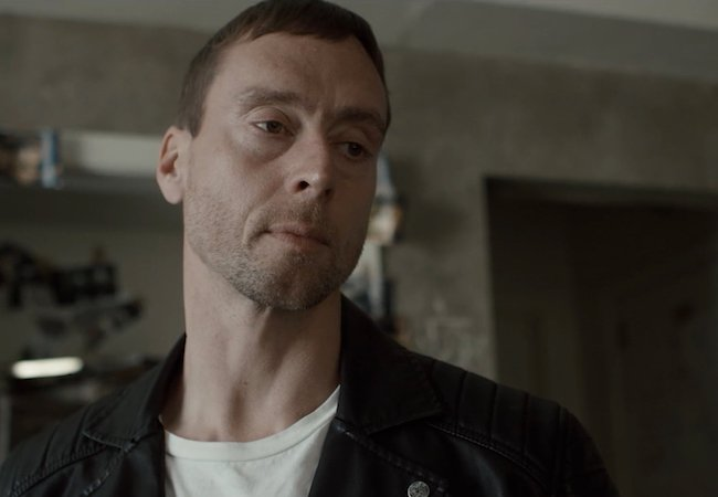 Kirk Caouette in American Badger, for which he is director, producer, actor and stunt performer